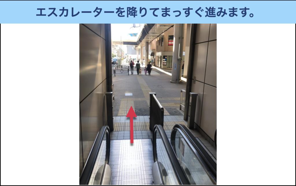 アリシアクリニック立川院への行き方7