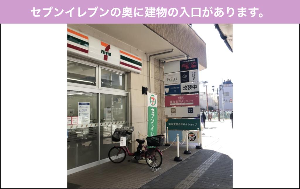 湘南美容クリニック(SBC)立川院への行き方
