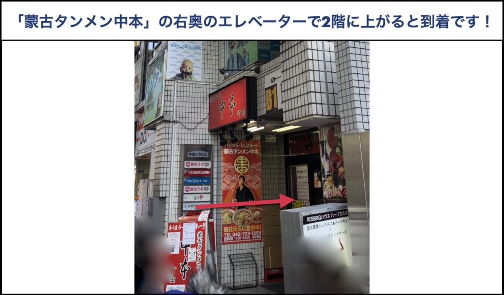 小田急線町田駅からメンズクリア町田駅前店への行き方